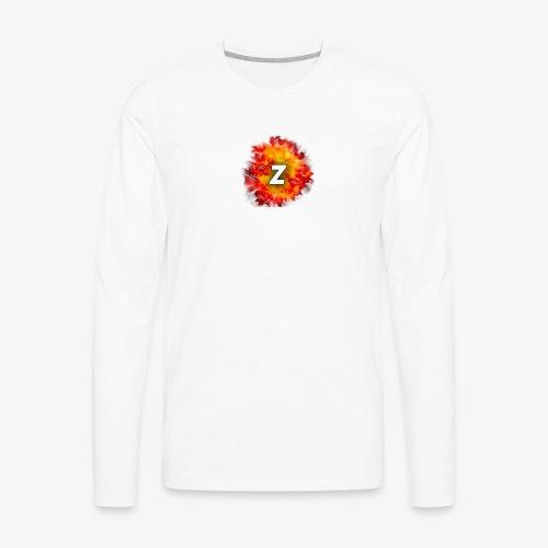 Zacksity V2 - Men's Premium Long Sleeve T-Shirt