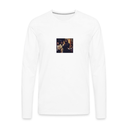 Sanaa Monae exclusive Juice Collection - Men's Premium Long Sleeve T-Shirt