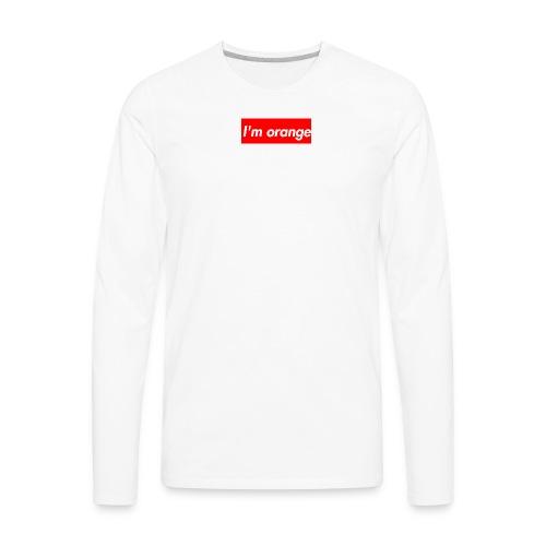 I m orange - Men's Premium Long Sleeve T-Shirt