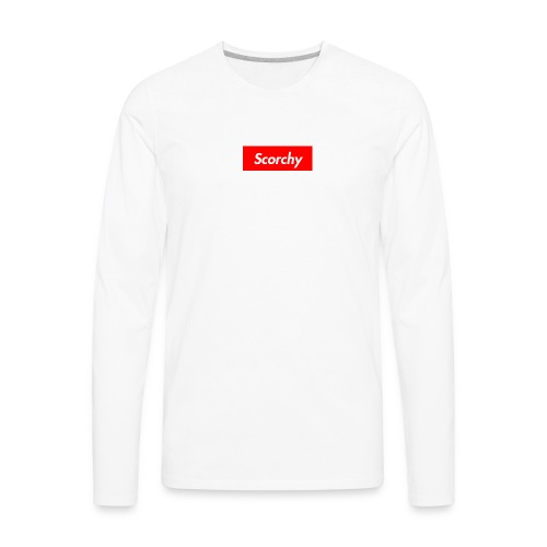 Scorchy HypeBeast - Men's Premium Long Sleeve T-Shirt