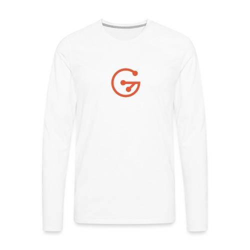 GitMarket - Men's Premium Long Sleeve T-Shirt