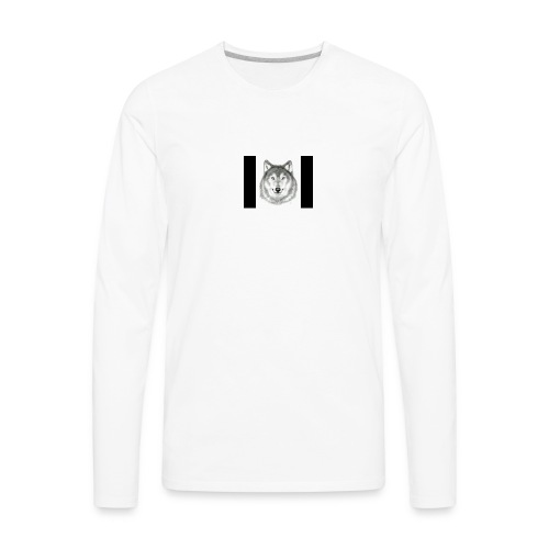 Wolf Gaming Live Stream Shirt - Men's Premium Long Sleeve T-Shirt