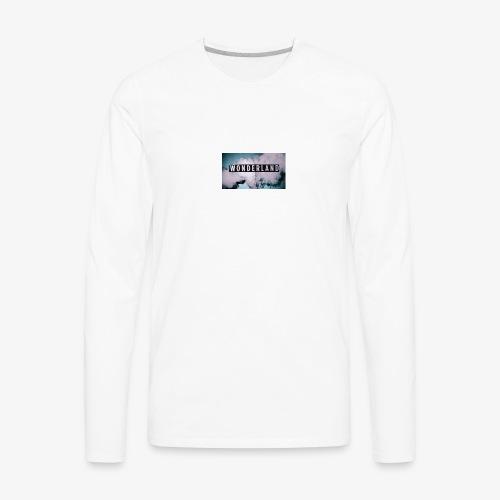 wonderland case - Men's Premium Long Sleeve T-Shirt