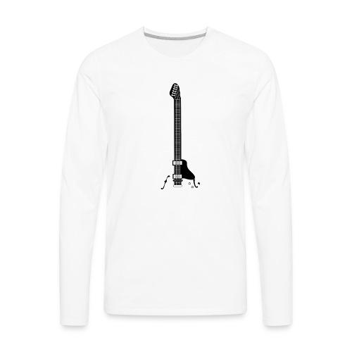 Electric Guitar - Men's Premium Long Sleeve T-Shirt