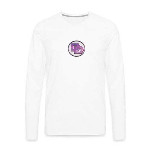 DerpDagg Logo - Men's Premium Long Sleeve T-Shirt