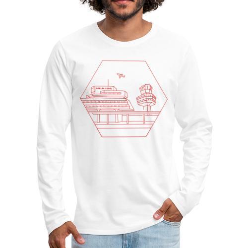 Airport Tegel in Berlin - Men's Premium Long Sleeve T-Shirt
