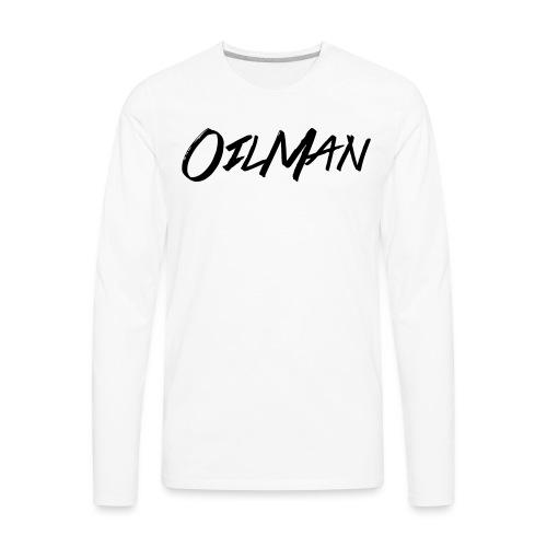 OilMan - Men's Premium Long Sleeve T-Shirt