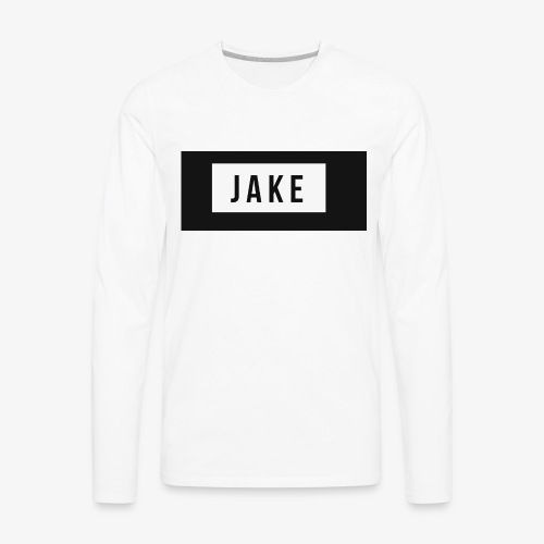 Jake logo - Men's Premium Long Sleeve T-Shirt
