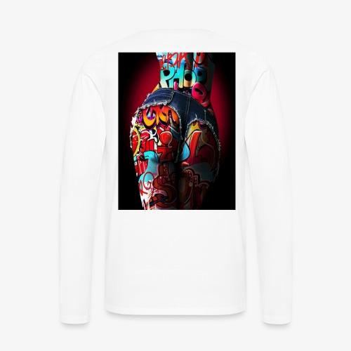 hip hop nigth - Men's Premium Long Sleeve T-Shirt