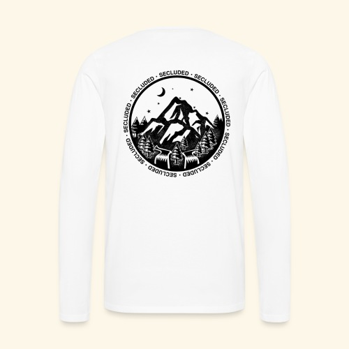 Bellingen Mountain Ranges - Men's Premium Long Sleeve T-Shirt