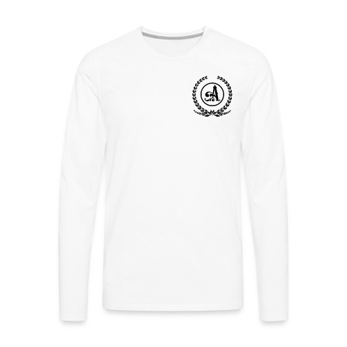 Wreath A B - Men's Premium Long Sleeve T-Shirt