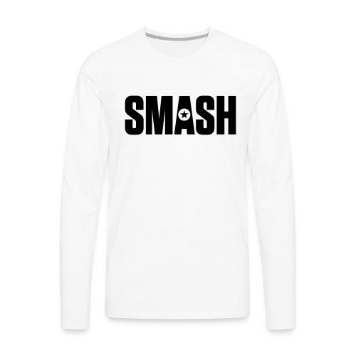 SMASH - Men's Premium Long Sleeve T-Shirt