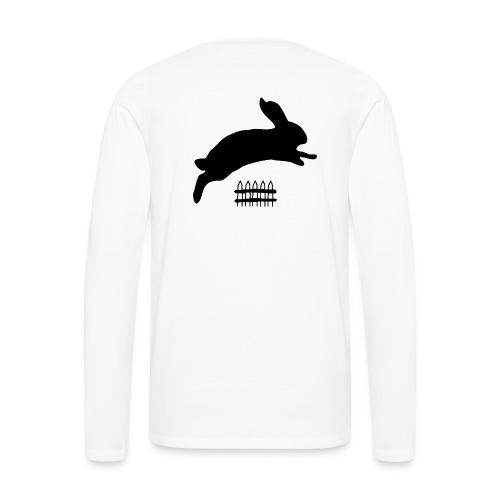 Rabbyt and Fence - Men's Premium Long Sleeve T-Shirt