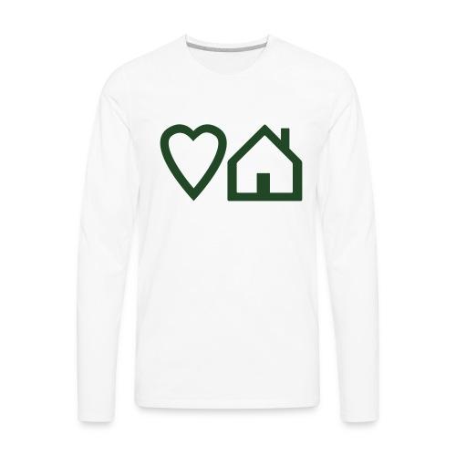 ts-3-love-house-music - Men's Premium Long Sleeve T-Shirt
