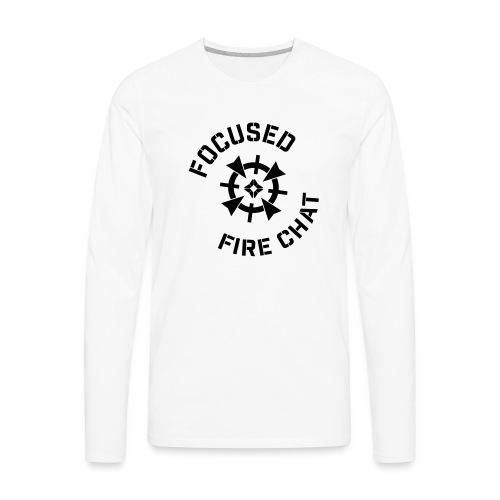 FFC-Black-Logo - Men's Premium Long Sleeve T-Shirt