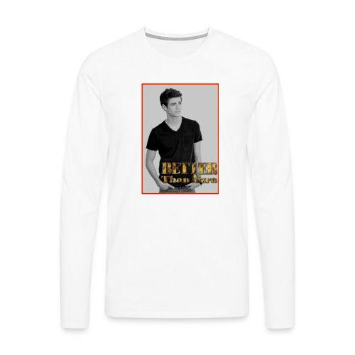 Geeks On Film Better Than Ezra T Shirt - Men's Premium Long Sleeve T-Shirt
