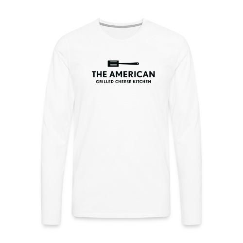 TAGCK Ringer Shirt-White/Black - Men's Premium Long Sleeve T-Shirt