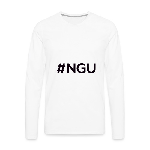 logo 11 final - Men's Premium Long Sleeve T-Shirt