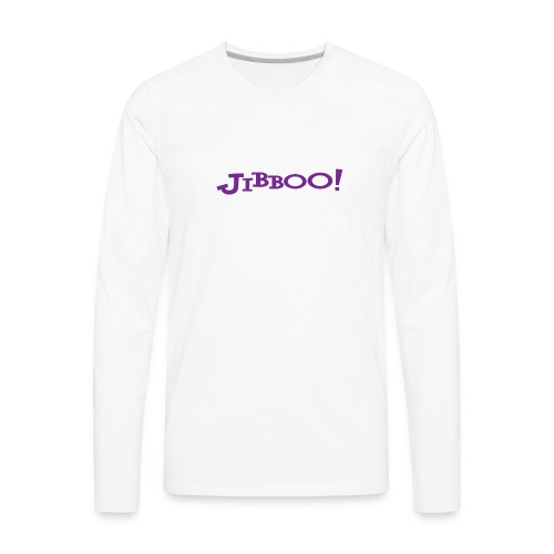 Jibboo! (Double Sided) - Men's Premium Long Sleeve T-Shirt