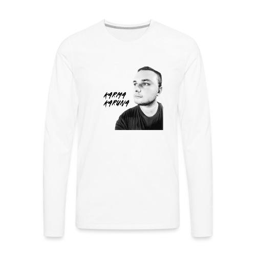 KarmaKaruna Official Mens Hoodie - Men's Premium Long Sleeve T-Shirt
