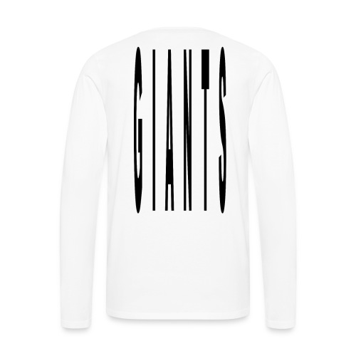 Giant type - Men's Premium Long Sleeve T-Shirt