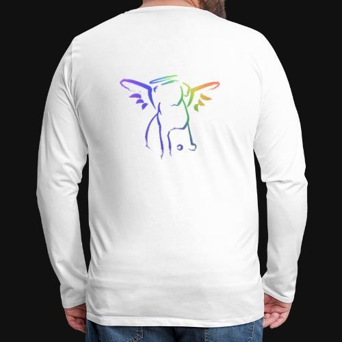 Angel Pup - Men's Premium Long Sleeve T-Shirt