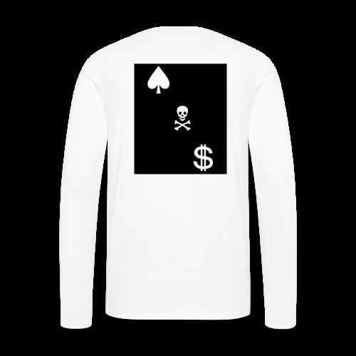 Cash Club Skull - Men's Premium Long Sleeve T-Shirt