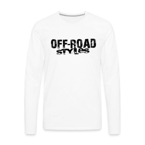 Monster Truck Grungy blk Women's T-Shirts - Men's Premium Long Sleeve T-Shirt