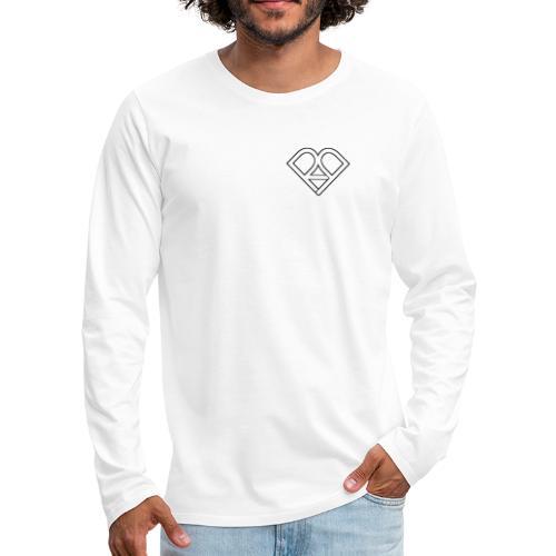 Riggi & Piros Heart - Men's Premium Long Sleeve T-Shirt