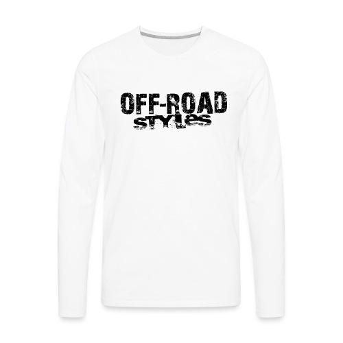 Extreme Off-Road Racing Long Sleeve Shirts - Men's Premium Long Sleeve T-Shirt