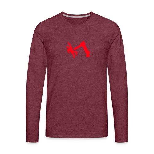 Robot Wins - Men's Premium Long Sleeve T-Shirt