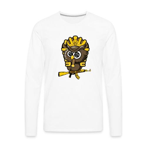 king otrg owl - Men's Premium Long Sleeve T-Shirt