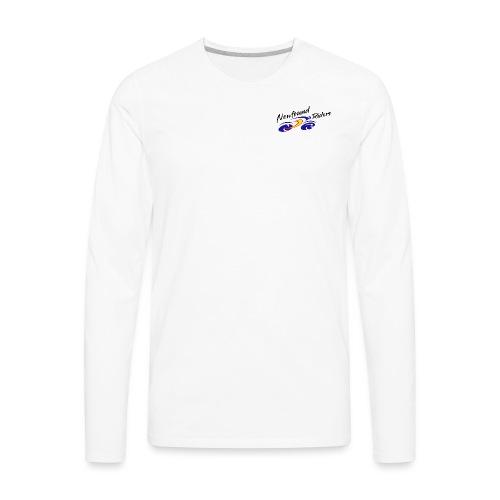 NFR Merch Logo TB r2 - Men's Premium Long Sleeve T-Shirt