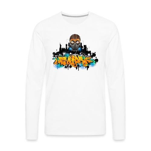2.ezy - Design for New York Graffiti Color Logo - - Men's Premium Long Sleeve T-Shirt