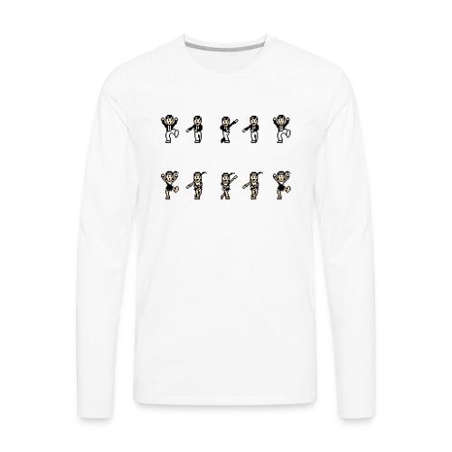 flappersshirt - Men's Premium Long Sleeve T-Shirt