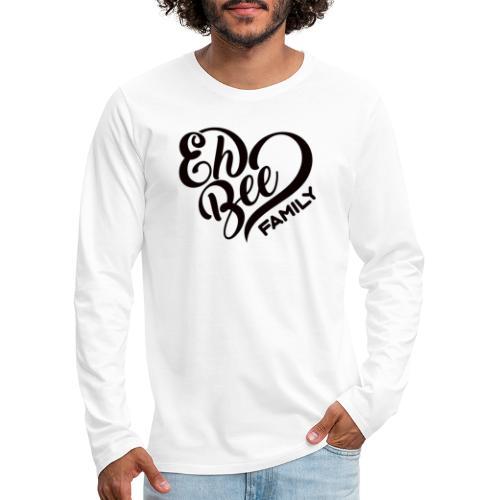 EhBeeBlackLRG - Men's Premium Long Sleeve T-Shirt