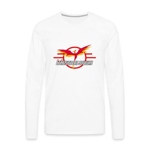 Official Logo LRJ - Men's Premium Long Sleeve T-Shirt