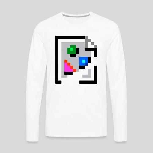 Broken Graphic / Missing image icon Mug - Men's Premium Long Sleeve T-Shirt