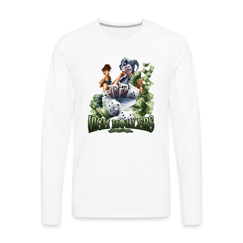 High Roller by RollinLow - Men's Premium Long Sleeve T-Shirt