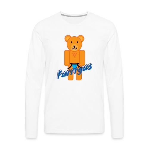 Furrrgus @ Underbear - Men's Premium Long Sleeve T-Shirt