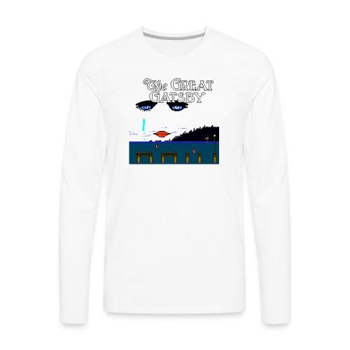 Great Gatsby Game Tri-blend Vintage Tee - Men's Premium Long Sleeve T-Shirt