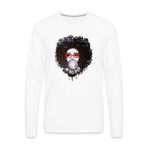 Afro pop_ - Men's Premium Long Sleeve T-Shirt