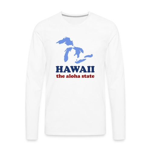 Geographically Impaired - Men's Premium Long Sleeve T-Shirt