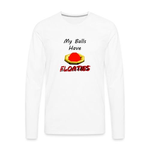 My Balls Have Floaties - Men's Premium Long Sleeve T-Shirt