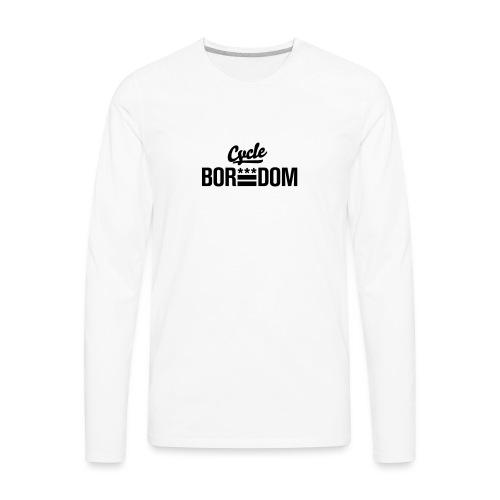 BikeDC E Flag - Men's Premium Long Sleeve T-Shirt