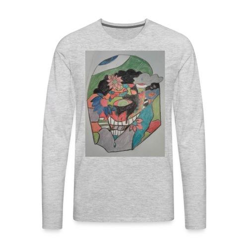 The judging eyes - Men's Premium Long Sleeve T-Shirt