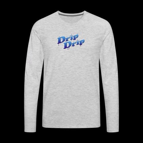 DripDrip - Men's Premium Long Sleeve T-Shirt