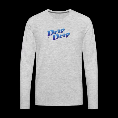 DripDrip - Men's Premium Long Sleeve T-Shirt