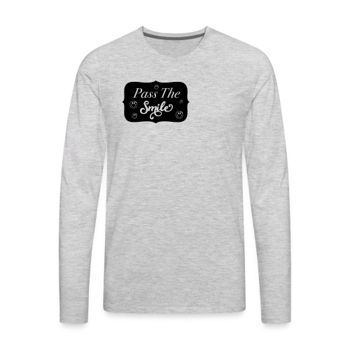 Pass The Smile - Men's Premium Long Sleeve T-Shirt