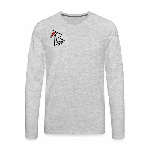 Brenden London XMAS logo - Men's Premium Long Sleeve T-Shirt